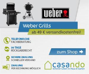 Weber Grills - bei casando.de